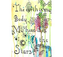 My Head is in the Stars Photographic Print
