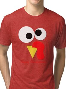 Happy Thanksgiving Tri-blend T-Shirt