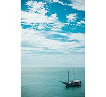 Buzios Boat Photographic Print