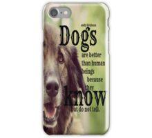 Emily Dickinson Dogs iPhone Case/Skin