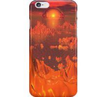 Space Islands of Orange iPhone Case/Skin