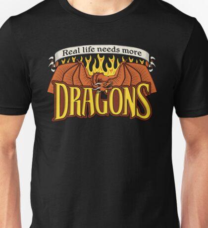 More Dragons Unisex T-Shirt