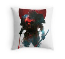 Nitenichi Bishamon Throw Pillow