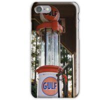 "Antique ""GULF"" Gas Pump iPhone Case/Skin"