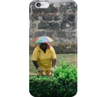 Umbrella Hat iPhone Case/Skin