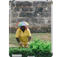 Umbrella Hat iPad Case/Skin