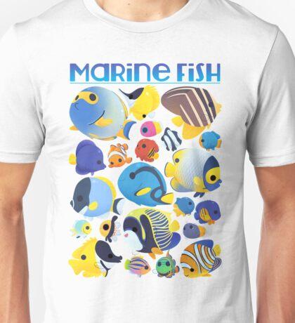 Marine Fish Collection 1 Unisex T-Shirt
