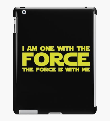 Force Chant iPad Case/Skin
