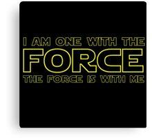 Force Chant - 2 Canvas Print