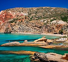 Fyriplaka beach, Milos island by Hercules Milas