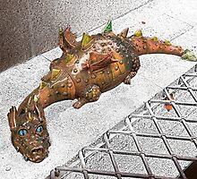 Dragon in the City by Danuta Antas