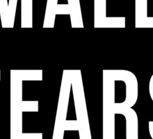 Male Tears (Black) Sticker