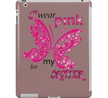 I Wear Pink For My Brother iPad Case/Skin