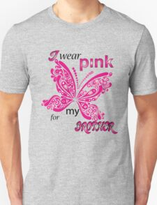 I Wear Pink For My Brother Unisex T-Shirt