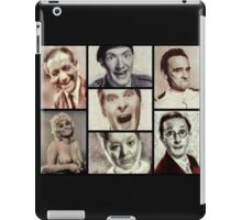 Classic Carry On Comedy iPad Case/Skin