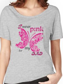 I Wear Pink For My Dad Women's Relaxed Fit T-Shirt