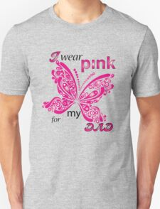 I Wear Pink For My Dad T-Shirt