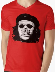 Che Calavera Mens V-Neck T-Shirt