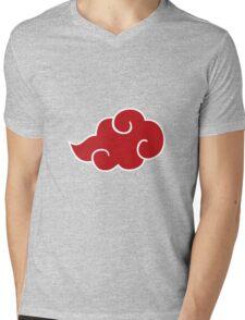 Red cloud  Mens V-Neck T-Shirt