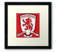 Middlesbrough Framed Print