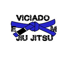 Brazilian Jiu jitsu Blue Belt - BJJ Blue Belt Photographic Print