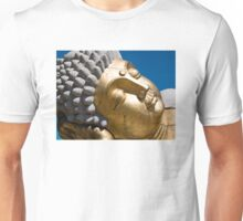 Happy Golden Buddha Unisex T-Shirt