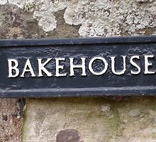 Bakehouse sign by Louise Ebrey Hill