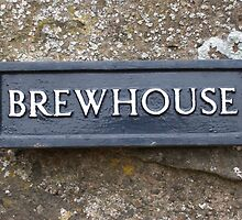 brewhouse sign by Louise Ebrey Hill