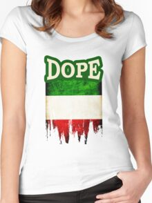 Italian Dope Women's Fitted Scoop T-Shirt