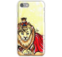 Arthur Lion & Merlin Mouse iPhone Case/Skin
