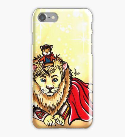 Arthur Lion & Merlin Mouse iPhone Case/Skin