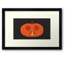 Little Jack-O-Lantern Framed Print