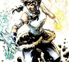 Avatar Korra by WCPerryAndrez