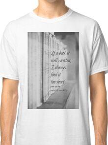 Jane Austen Book Classic T-Shirt