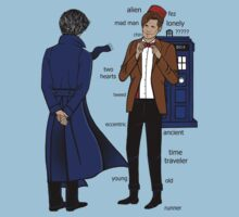 Sherlock meets the Doctor by chloeroseart