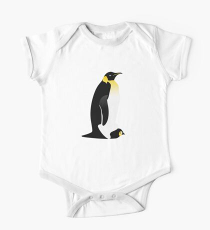 Penguin parent with his baby One Piece - Short Sleeve