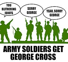 Army Soldiers Get George Cross by DolceandBanana