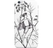 Absinthe Tea Fairy Fennel iPhone Case/Skin