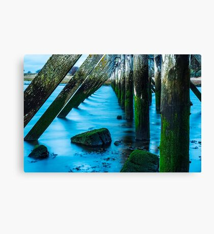 Its All Water Under The Bridge Canvas Print