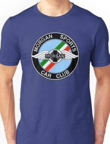 Morgan Sports Car Club Italy Colors Unisex T-Shirt