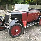 1920's Lea Francis Convertible by Edward Denyer