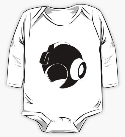 Mega Man Helmet One Piece - Long Sleeve