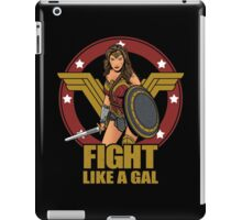 Fight like a Gal iPad Case/Skin