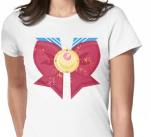 Sailor Moon Sailor Fuku: Moon Prism Power Brooch  Womens Fitted T-Shirt