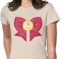 Sailor Moon Bow: Moon Prism Power Brooch  Womens Fitted T-Shirt