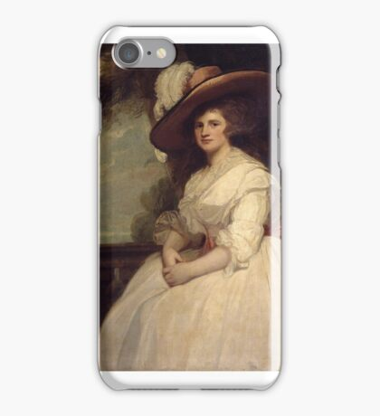 George Romney    Mrs John Matthews iPhone Case/Skin