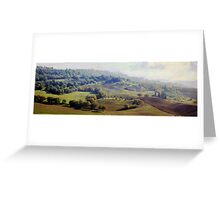 Tuscan Tapestry Greeting Card