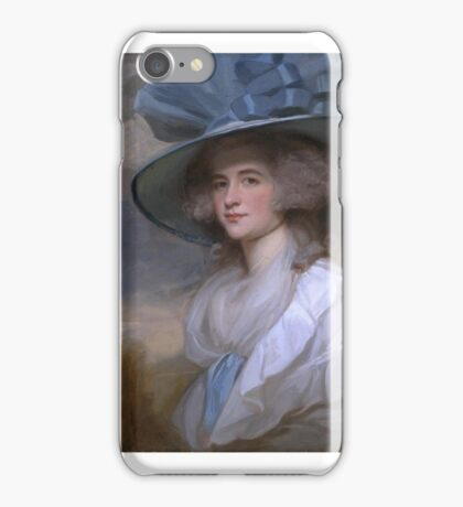 George Romney    Mrs Robert Trotter of Bush iPhone Case/Skin