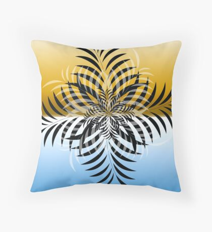 leaf 1 Throw Pillow