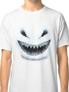 Doctor Who - Evil Snowman Classic T-Shirt